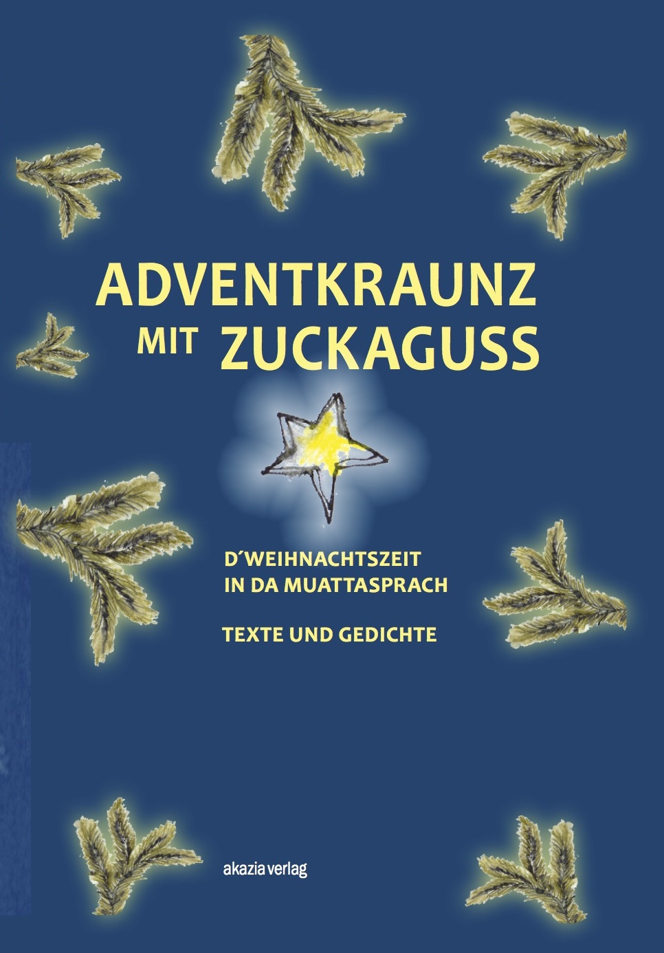 Adventkraunz mit Zuckerguss